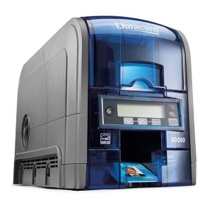 Datacard SD260 Printer Simplex ISO Clear Card
