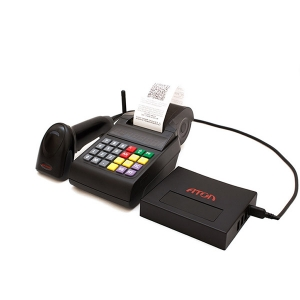 Онлайн-касса Атол ЕГАИС 54-ФЗ + сканер HW1450gHR