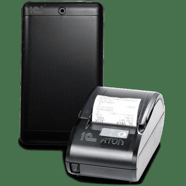 Кассовый аппарат 1С-АТОЛ МК 11Ф Мобильный BT 2G
