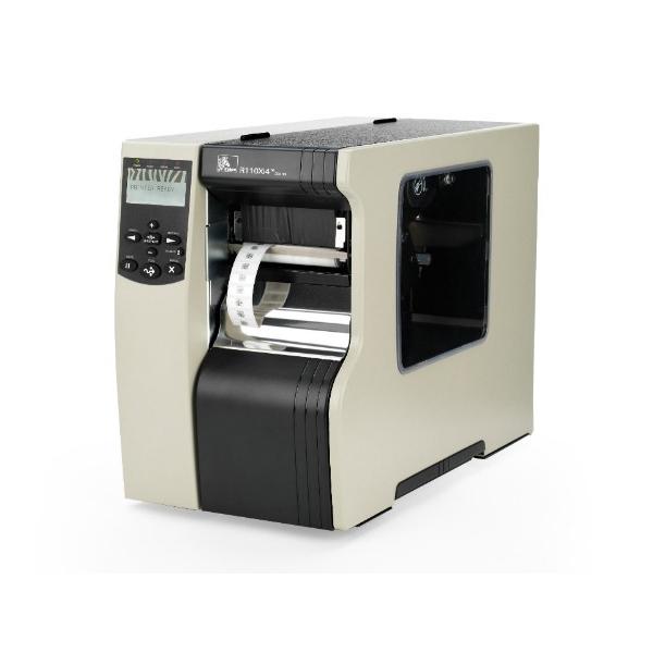 Zebra R110Xi4 300dpi ZebraNet b/g Print Server Rewind with Peel