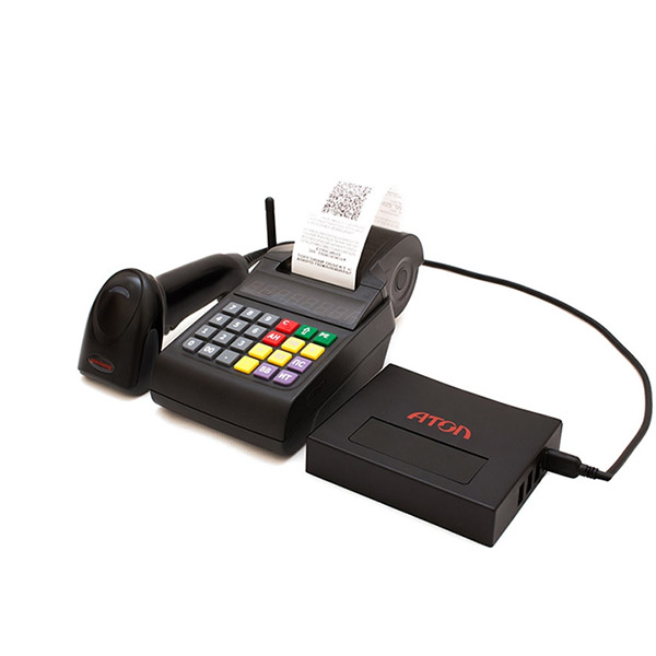 ККТ Атол ЕГАИС 54-ФЗ + сканер HW1450gHR