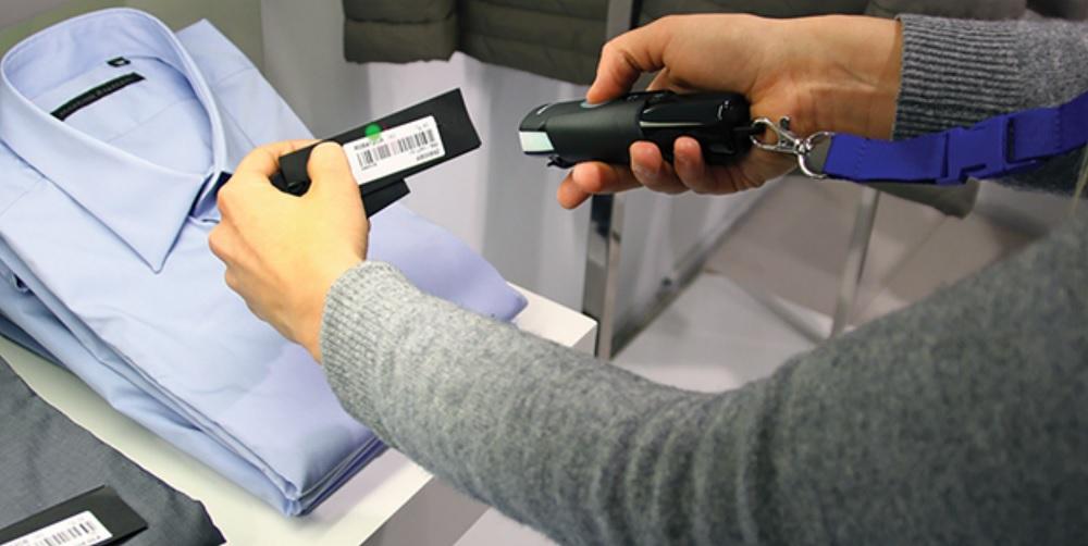Считывание маркера беспроводным 2D-сканером Datalogic DBT6400