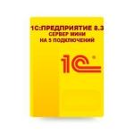 1С:Предприятие 8.3. Сервер МИНИ на 5 подключений. Электронная поставка_1