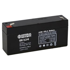 Аккумулятор для кассового аппарата General Security GS 3,2-6_1
