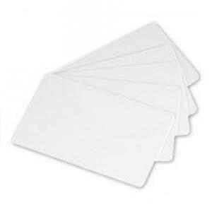 Плаcтиковые карты белые Zebra_1