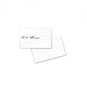 Плаcтиковые карты с панелью для подписи Zebra_1