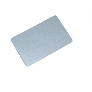 Пластиковые карты серебряные_1