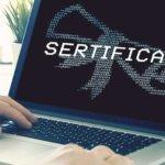 Сертификат ключа проверки электронной подписи: установка и настройка