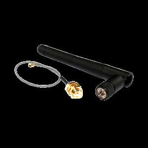 Антенна и кабель для GSM в коммуникационном модуле